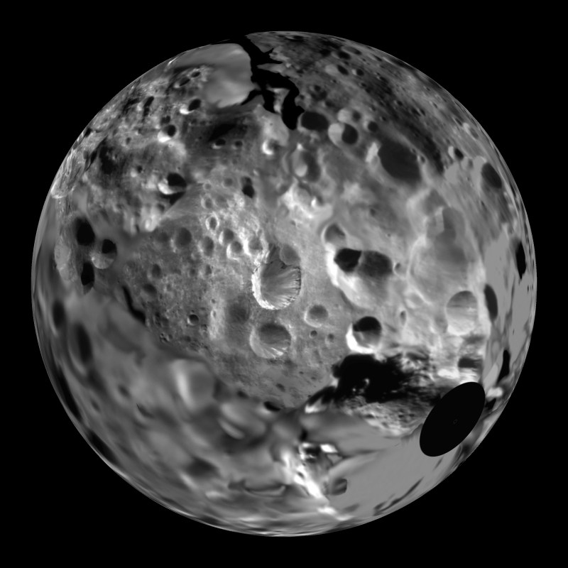 planets moons craters - photo #41
