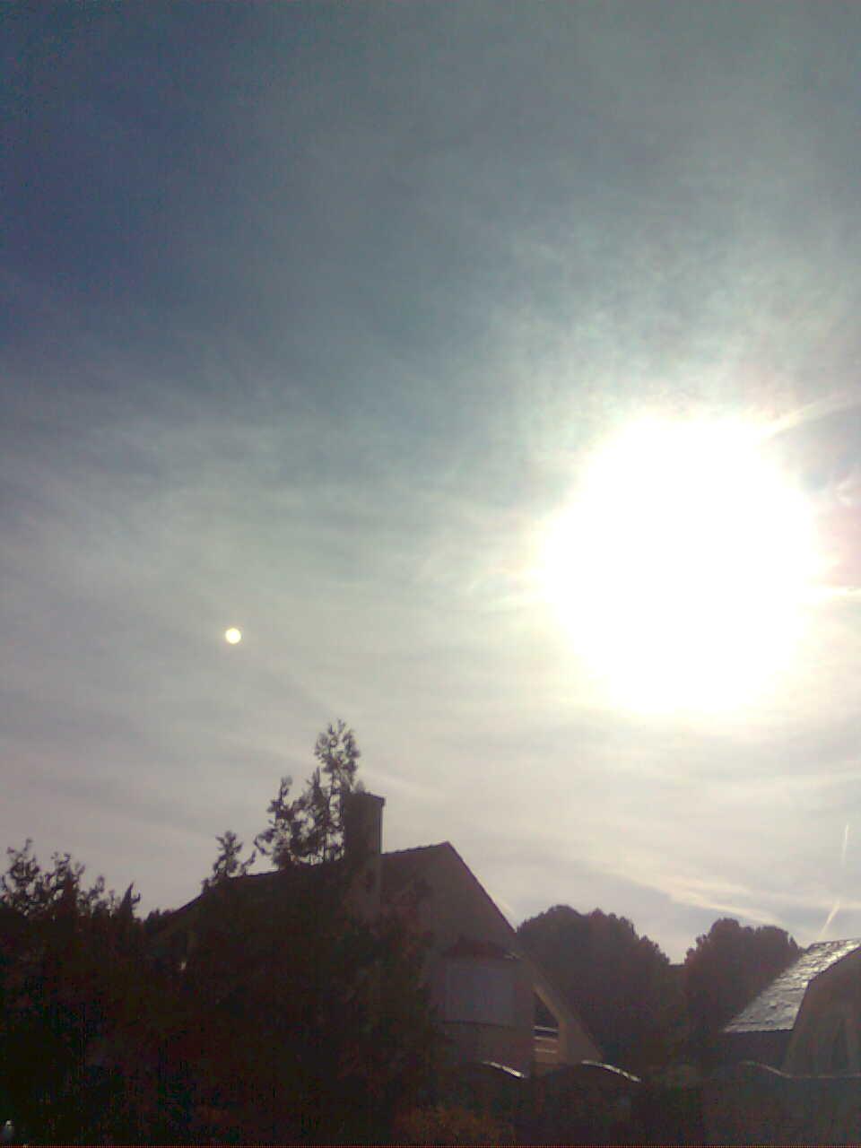 Nibiru j piter o la luna fotograf as del 27 de for Donde esta el sol