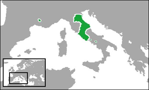 Ultima advertencia el vaticano y los estados pontificios for Sucursales banco santander en roma italia