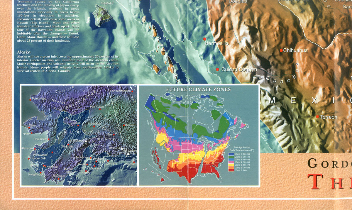 Us Navy Map Of Future - Future map of north america