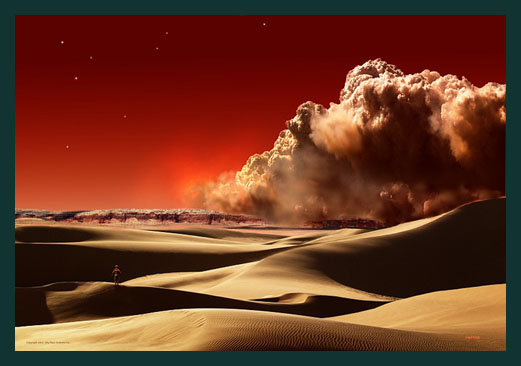 dust storms on planet mars - photo #15