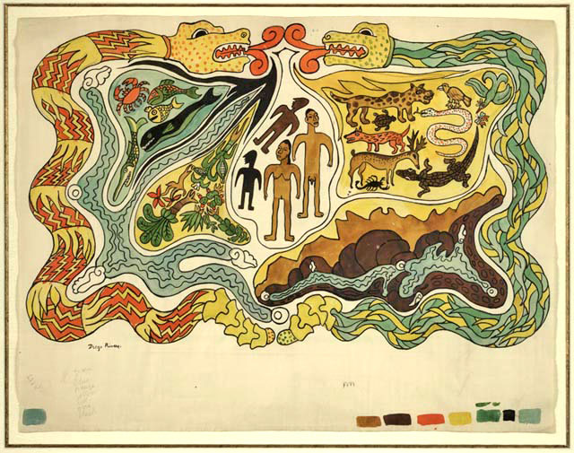 creation of men the flood myths essay Creation myths of the midwest  one version of the iroquois creation myth  m  for the red men were never united after the second flood.