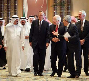 george bush and osama bin laden relationship with cia