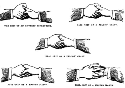 Codex magica 8 masonic handshakes and grips from duncan s masonic ritual and monitor 3d ed m4hsunfo Image collections