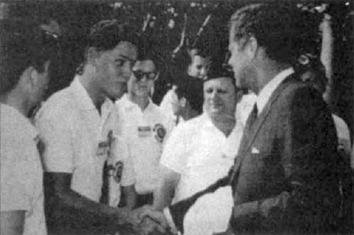 bill clinton young. President Bill Clinton giving