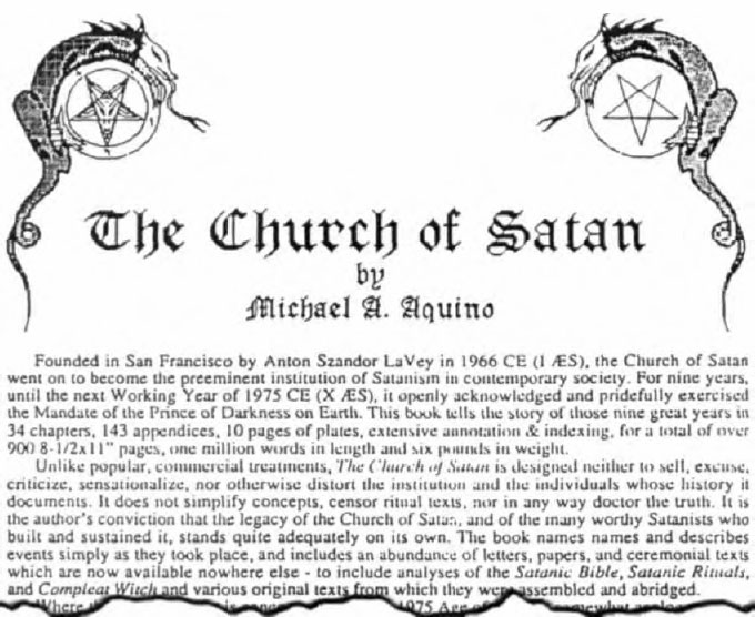 Satanic Symbols and Their Meaning
