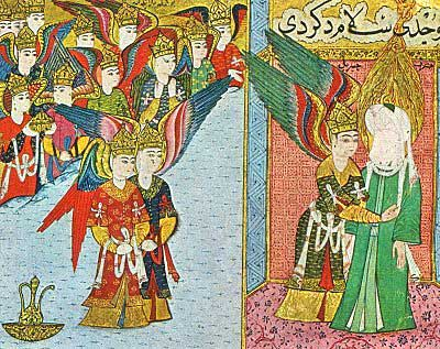 depictions of mohammed throughout history