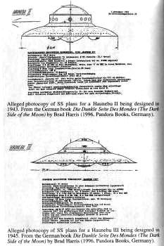 Article about nazi orbital solar mirror weapon