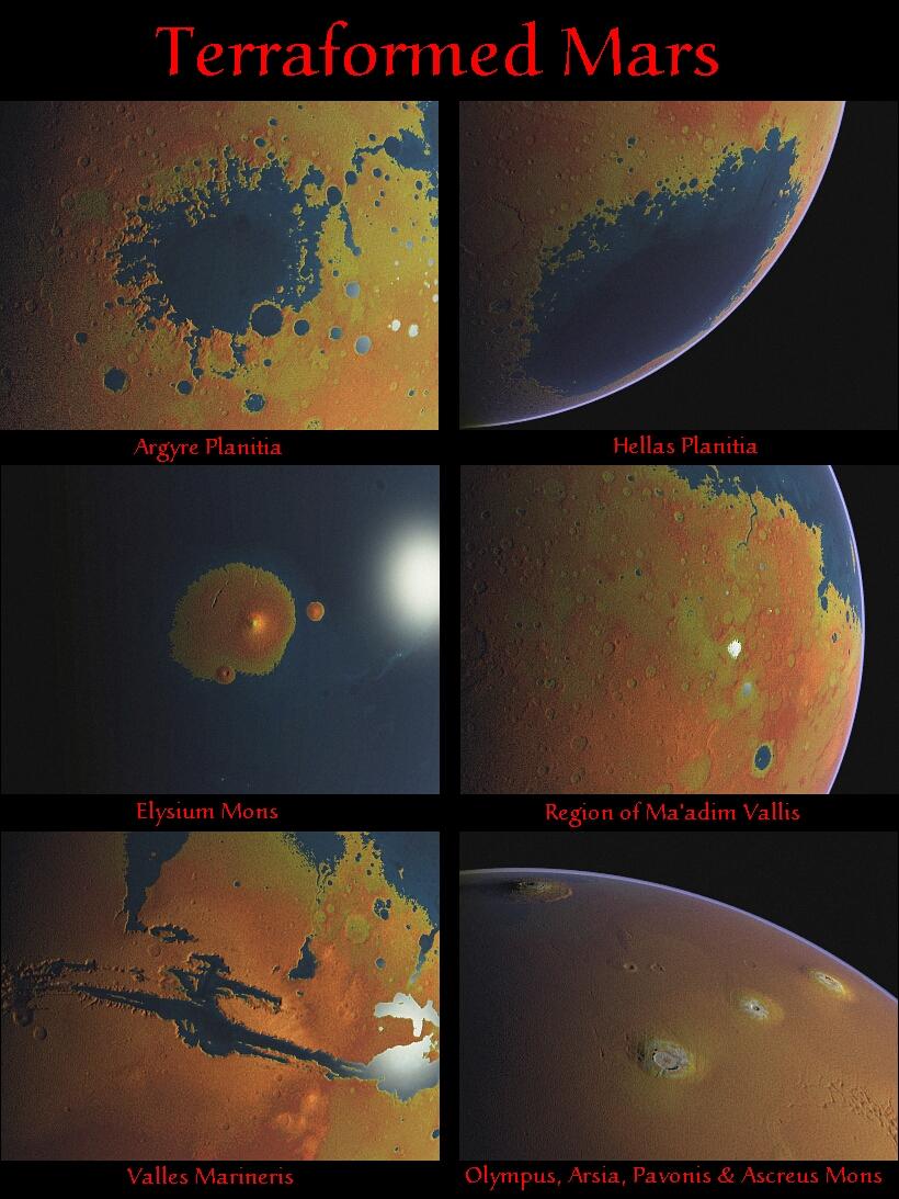 terraforming mars for human habitation essay