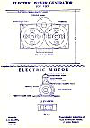 11.   Electric Power Generator: Top View and Elevation Plan